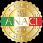 Logo 25 anni ANACI